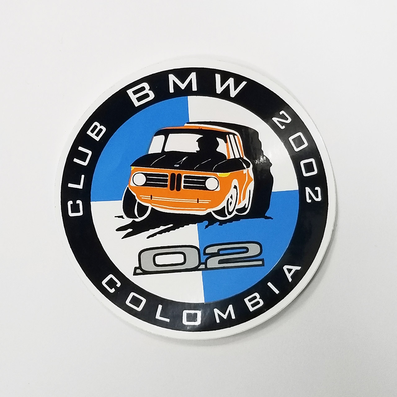 Calcomania Club BMW 2002 Colombia