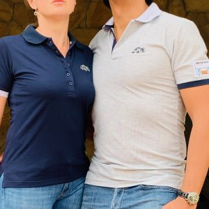 Combo Polos Mille Miglia Hombre y Mujer